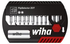 Набор бит FlipSelector Torsion ZOT смешанный 13 шт. WIHA 39043