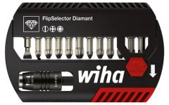 Набор бит FlipSelector Torsion Diamant смешанный 13 шт. WIHA 39079