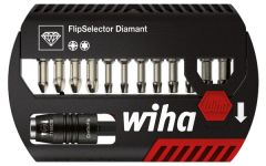 Набор бит FlipSelector Torsion Diamant смешанный 13 шт. WIHA 39080