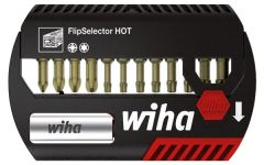 Набор бит FlipSelector Torsion HOT смешанный 13 шт. WIHA 39044