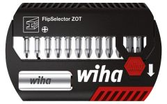 Набор бит FlipSelector Torsion ZOT Philips 13 шт. WIHA 39077
