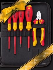 Набор инструментов Electrician's Set 5 шт. WIHA 42806